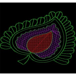 Sequin Embroidery designs 16