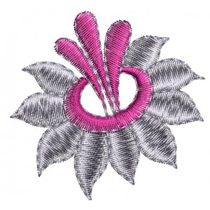 Single Flower Embroidery Designs