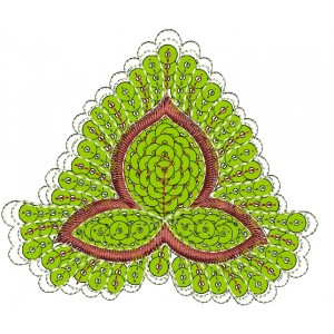 Nice Applique Flower Embroidery Designs