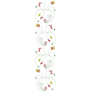 Allover Jaal Embroidery Design 4