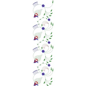 Allover Jaal Embroidery Design 18