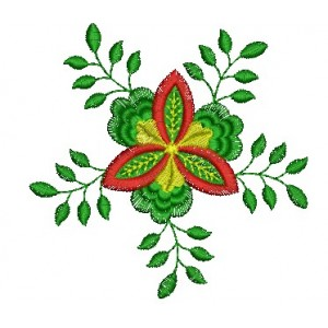 Green Embroidery Designs