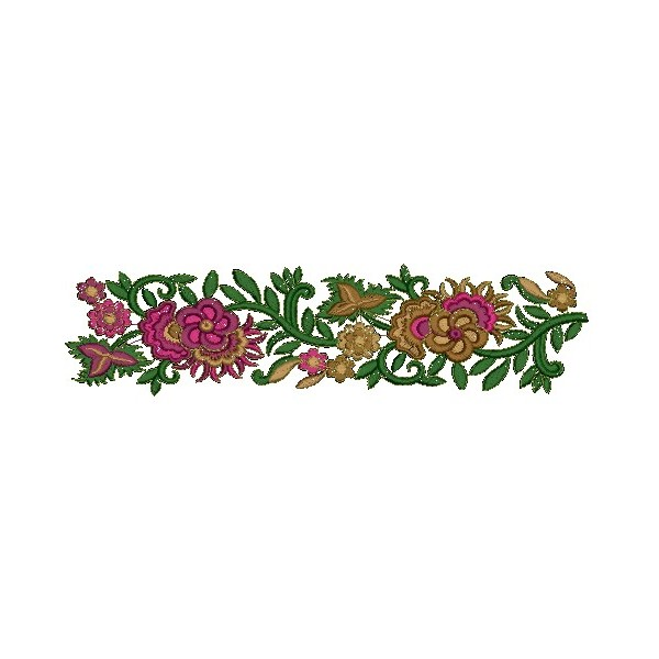 Fancy Border Embroidery Design 151