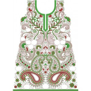 Traditional Indian Embroidery design