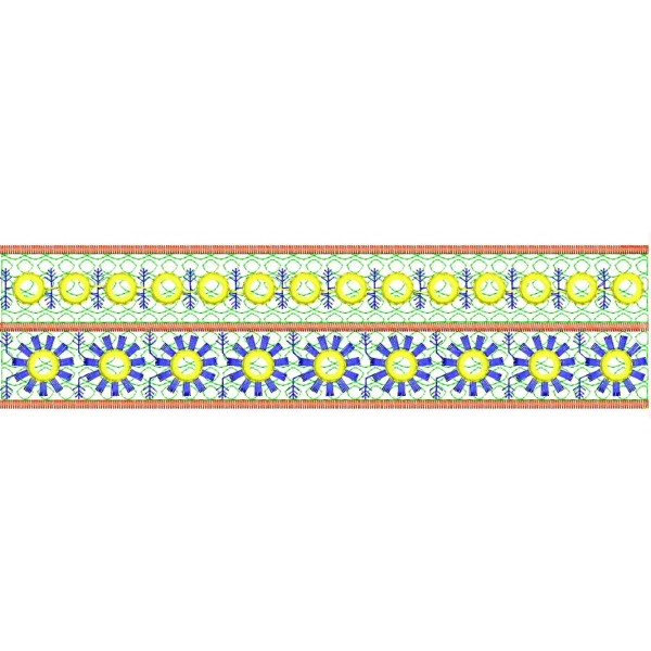 Wide Border Embroidery Designs 3