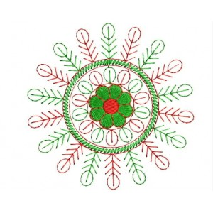 Circle Outline Embroidery Deisngs