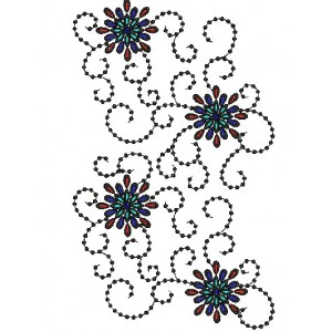Abstract Embroidery deisgns 10