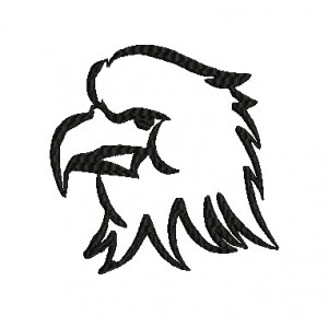 Eagle Embroidery Designs Outline