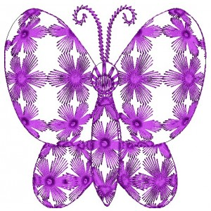 Creative Butterfly Embroidery Designs 1
