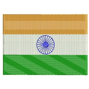 Indian Flag Embroidery Deisgns