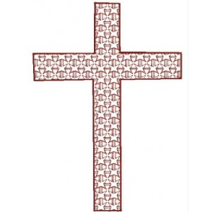 Cross Motif Embroidery Designs