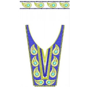 neckline Designs for Dress Embroidery
