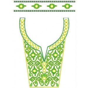 neckline Designs for Dress Embroidery 1
