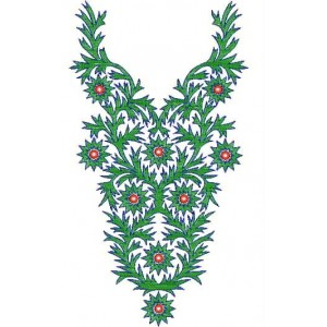 neckline Designs for Dress Embroidery 5