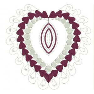 Heart Embroidery Designs 12