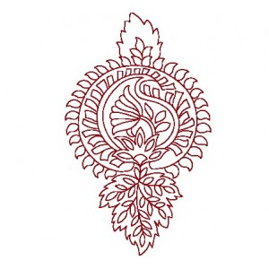 Clipart Redwork Embroideryshristi 10