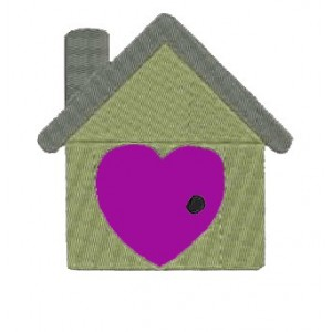Sweet Love Home Embroidery Designs