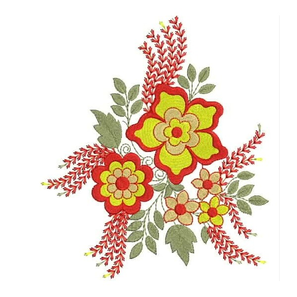 Floral embroidery designs special embroideryshristi
