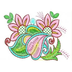 Floral Embroidery designs 1069
