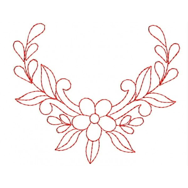 Red Work Embroidery Designs 1083 Embroideryshristi
