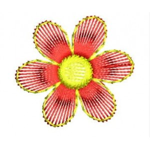 Simple flower embroidery designs 6