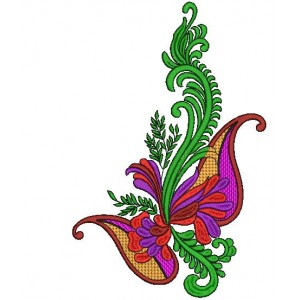 Large Butterfly Embroidery designs