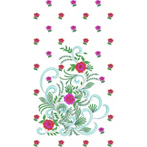 Beautiful Dress Machine Embroidery Designs2086