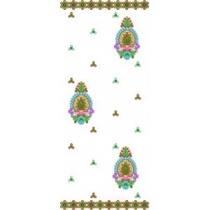 Dupatta Sequin Embroidery Designs3
