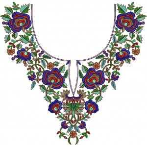 New Beautiful Neckline designs 1