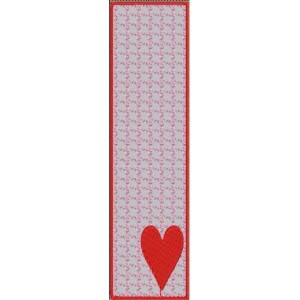 Love Bookmark Embroidery Designs