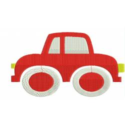 Toy Car Embroidery Design 5x7