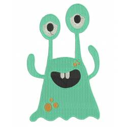 Monster Embroidery Design 1