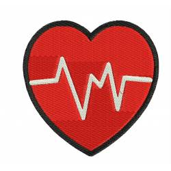 Heart Beat Medical  Embroidery