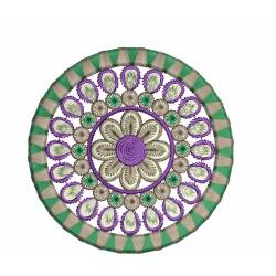 Beautiful Circle Embroidery Design