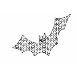 Bat Motif Halloween Design