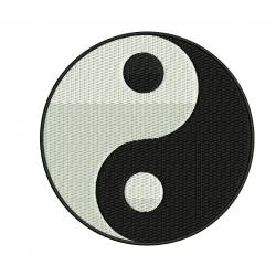 Yin-Yang Embroidery Design