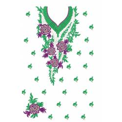 Beautiful Embroidery Dress Design