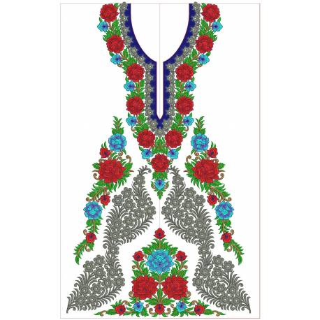 New Indian Embroidery Suit Designs 4