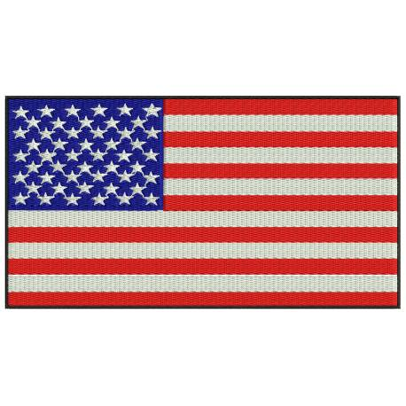 Flag of the United States Embroidery Design