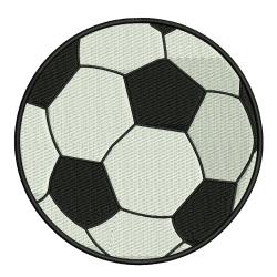 Foothball Embroidery Design