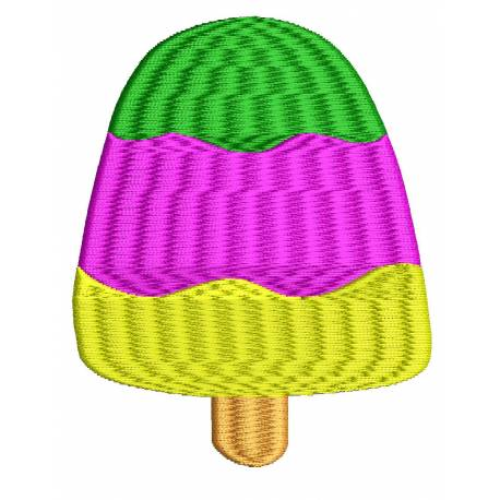 Ice Candy Embroidery Design