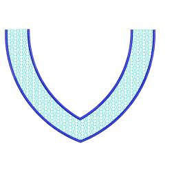 Simple Neckline Embroidery Design