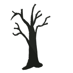 5x7 Tree Embroidery Design