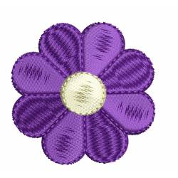 Simple 2x2 Embroidery Flower Design