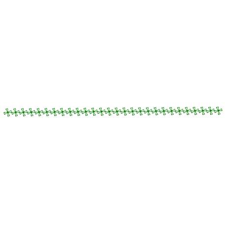 Seamless Simple Motif Embroidery border