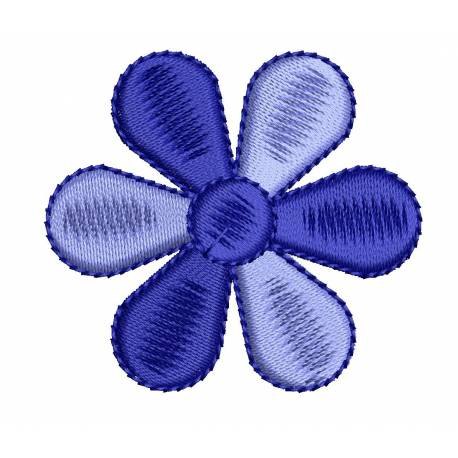 2x2 Flower Embroidery Design
