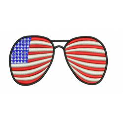 USA Patriotic Spectacles Stain