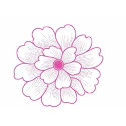 Beautiful 5x7 Flower Embroidery Design
