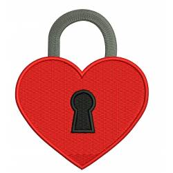 Love Lock Valentine Heart