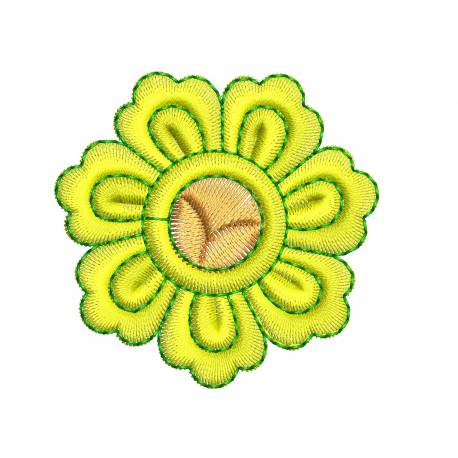 Floral Machine Embroidery Design Freebie